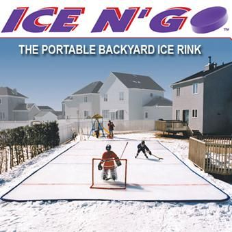 22 X33 Ice N Go Backyard Reusable Rink Kit