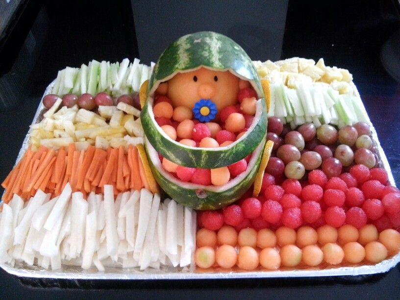 Baby watermelon bebe sandia mukimono y dise o con for Comedor de frutas para bebe
