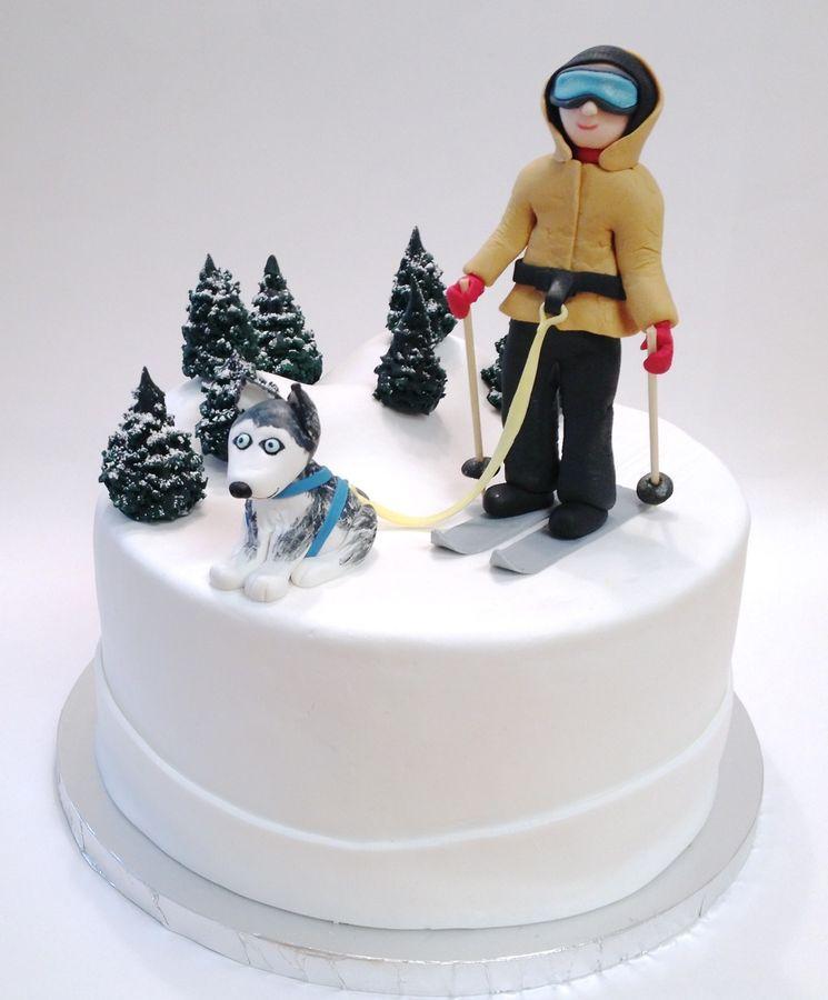 Dog Cake On Pinterest Dog Cakes Fondant Dog And Fondant