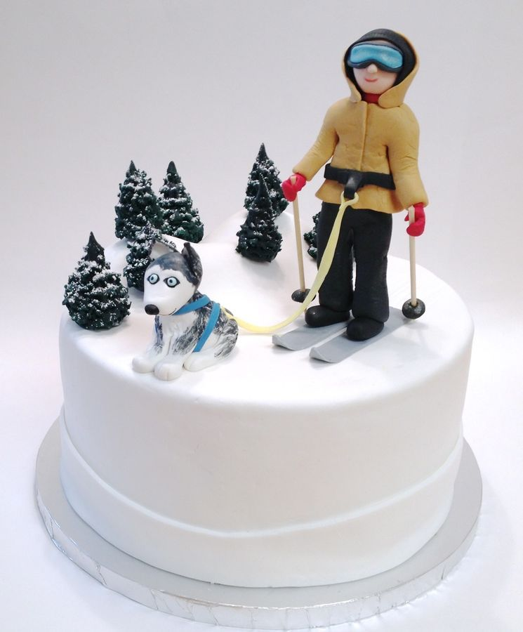 Snowboard Cake Topper Uk