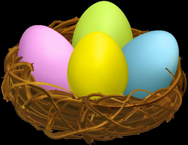 Easter Egg Nest Transparent Png Clip Art Easter Egg Pictures Easter Eggs Easter Egg Nest