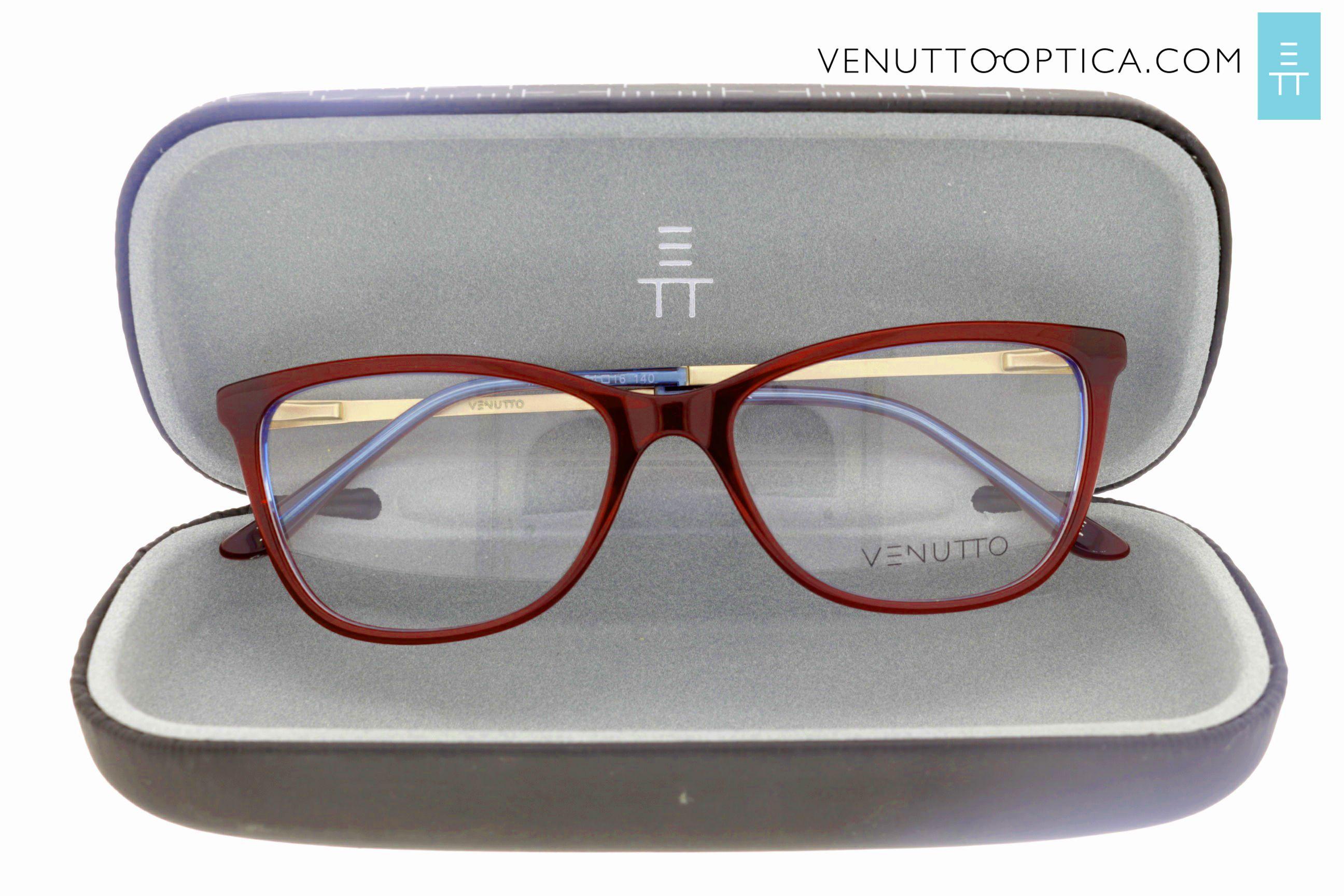 6643158f754b3 Óculos de grau Venutto, vermelho e azul, moda e estilo, gatinho feminino.  Compre agora  )