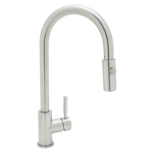 Rohl R7520ss Modern Kitchen Faucet With Pull Down Spray Stainless