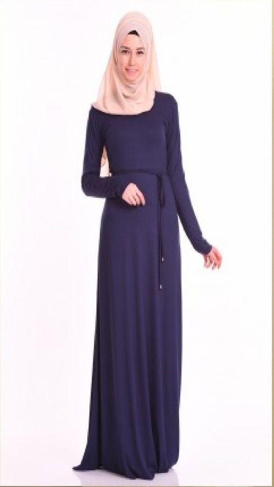 LUXUS Mode Abaya Abiye Tesettür Hijab Abendkleid Maxikleid ...