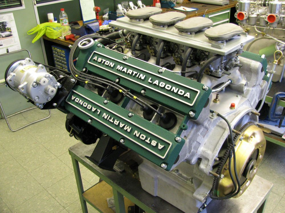 1987 V8 Zagato Conversion Pt 2 Rs Williams Ltd Aston Martin Heritage Specialist Aston Martin Engineering Aston