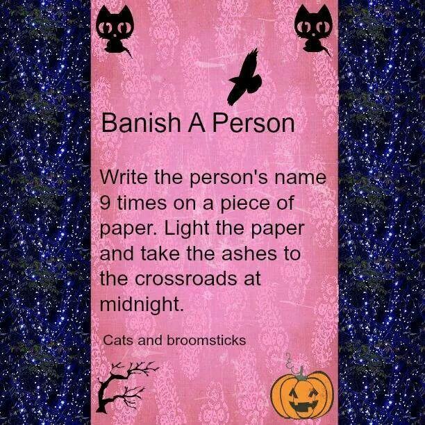 Banishing Spell, Magick Spells, Book Of