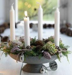 Advent Wreath From Little Scandinavian Com Advent Wreath Christmas Advent Advent Candles