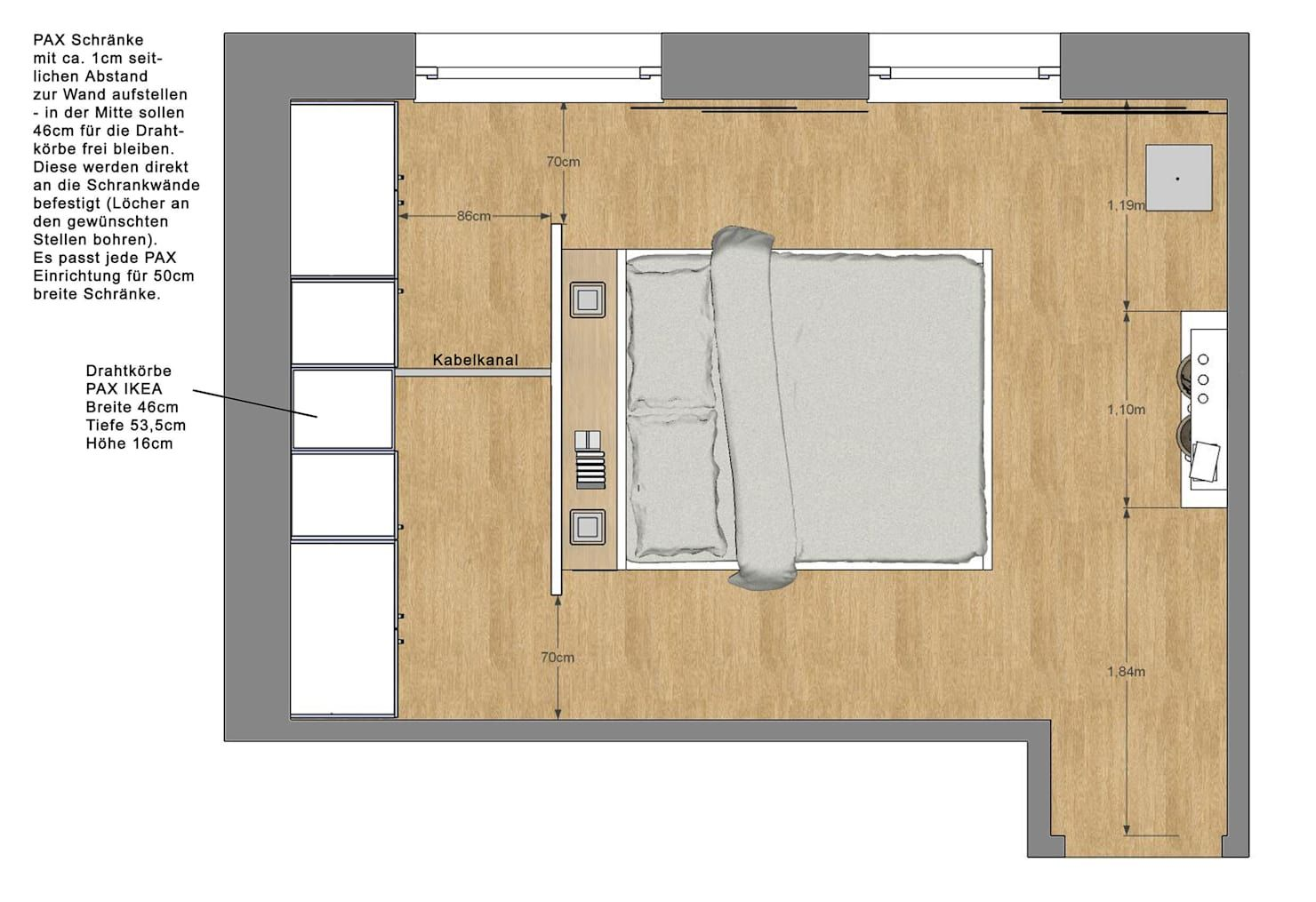 Schlafzimmer Wohnung P Raumteiler Kleiner Schrank Design