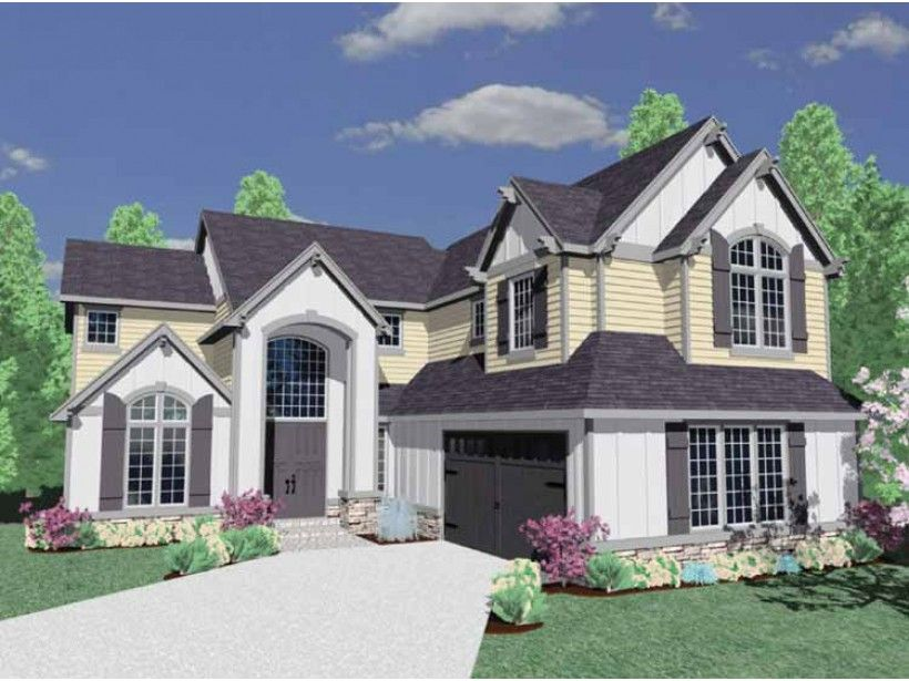 Build your ideal home with this Traditional house plan with 4 bedrooms(s), 2 bathroom(s), 2 story, and 3032 total square feet from Eplans exclusive assortment of house plans.
