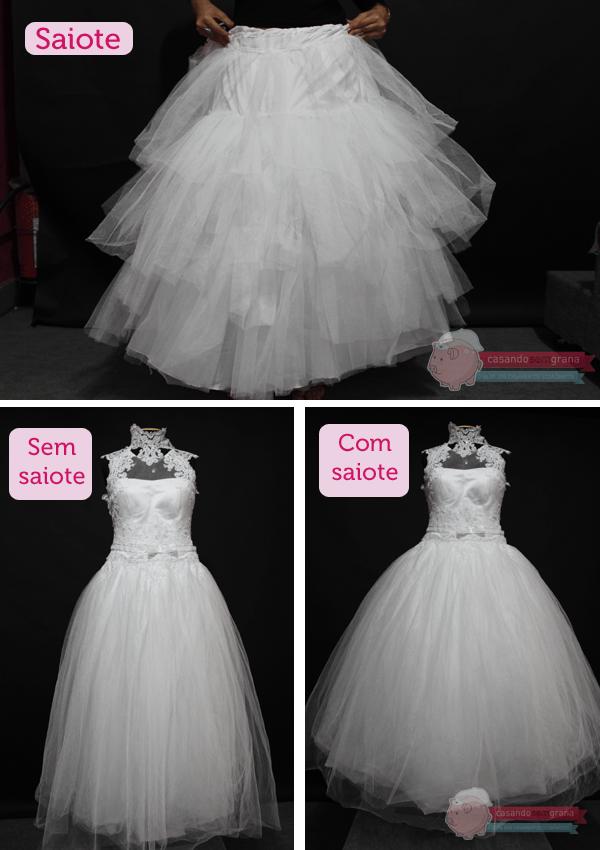 Ah, o vestido de noiva… Já disse e repito por que acredito: Dentro dele cabem…
