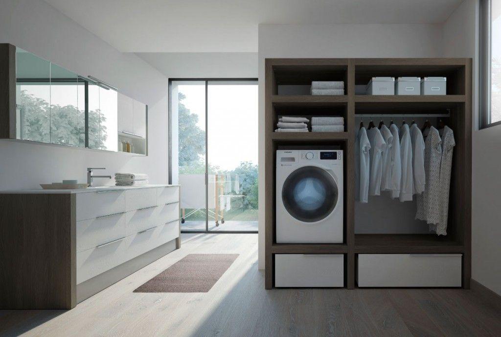 Arredi Lavanderia Bagno : Mobili per lavanderia spazio time laundry