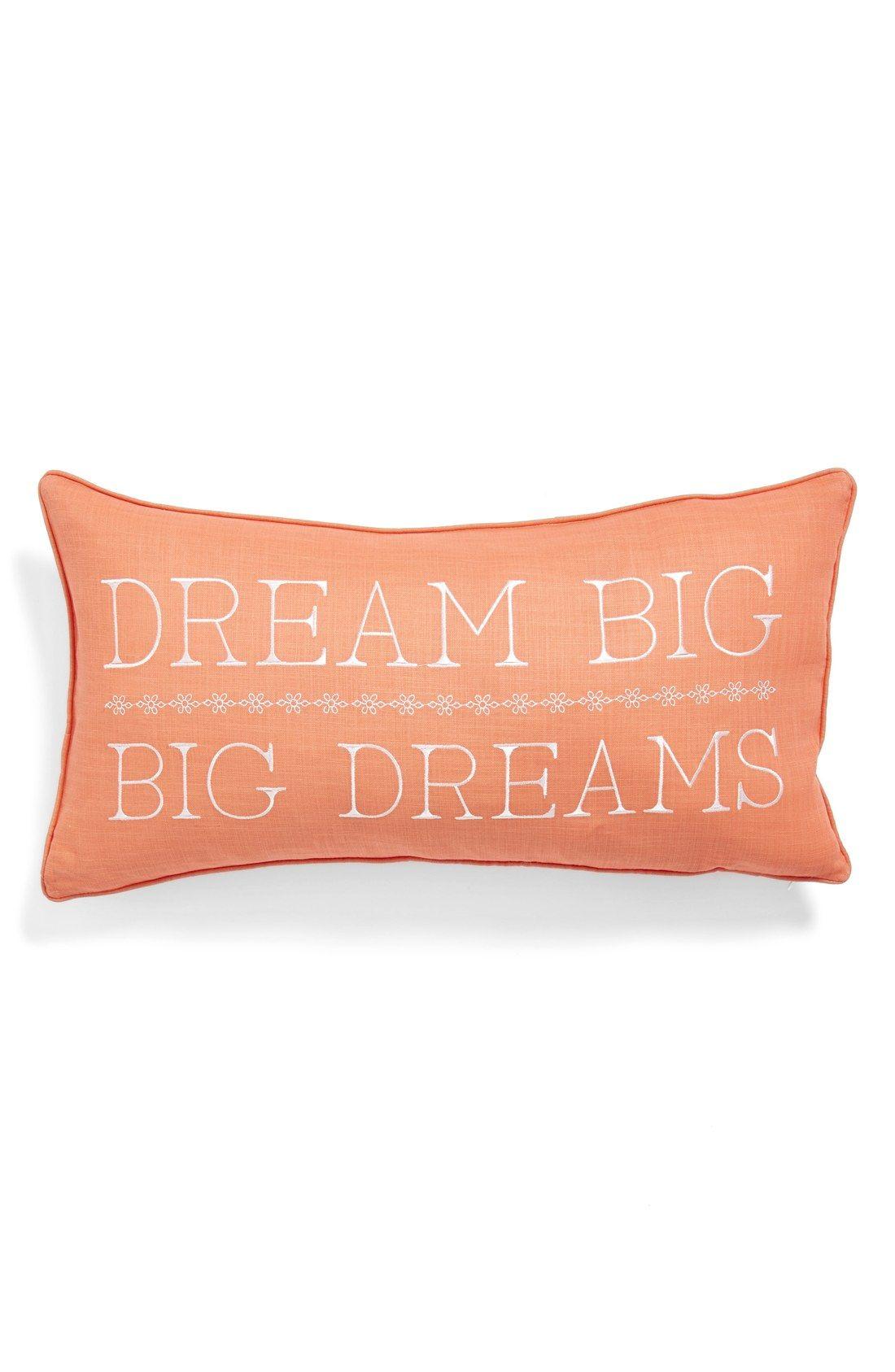 Levtex Dream Big Big Dreams Accent Pillow Nordstrom Big Pillows Pillows Dream Big