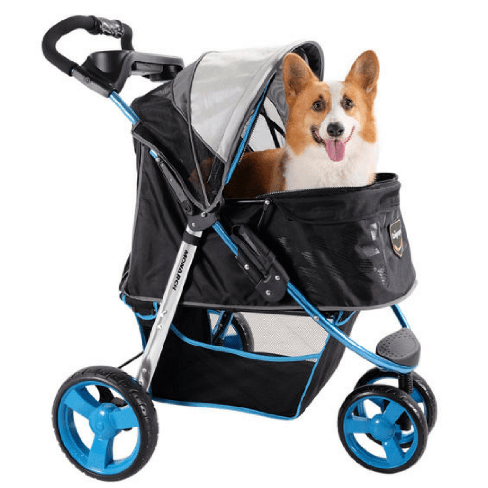 Urban Blue Luxury Buggy Pet Stroller by Innopet (With