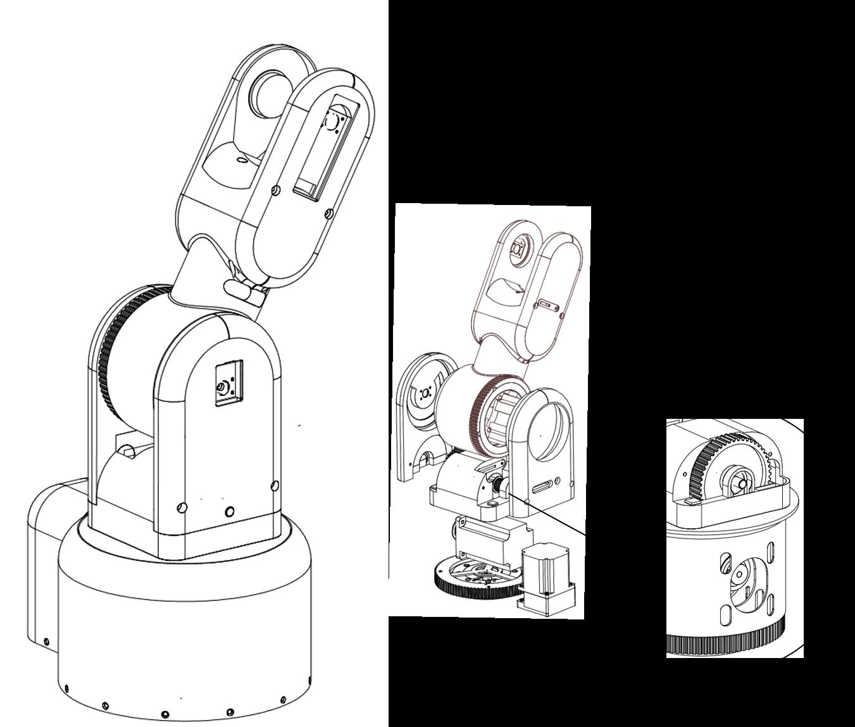 Construction How Is Walter Built Walter Robot Arm Arduino Robot Industrial Design Sketch