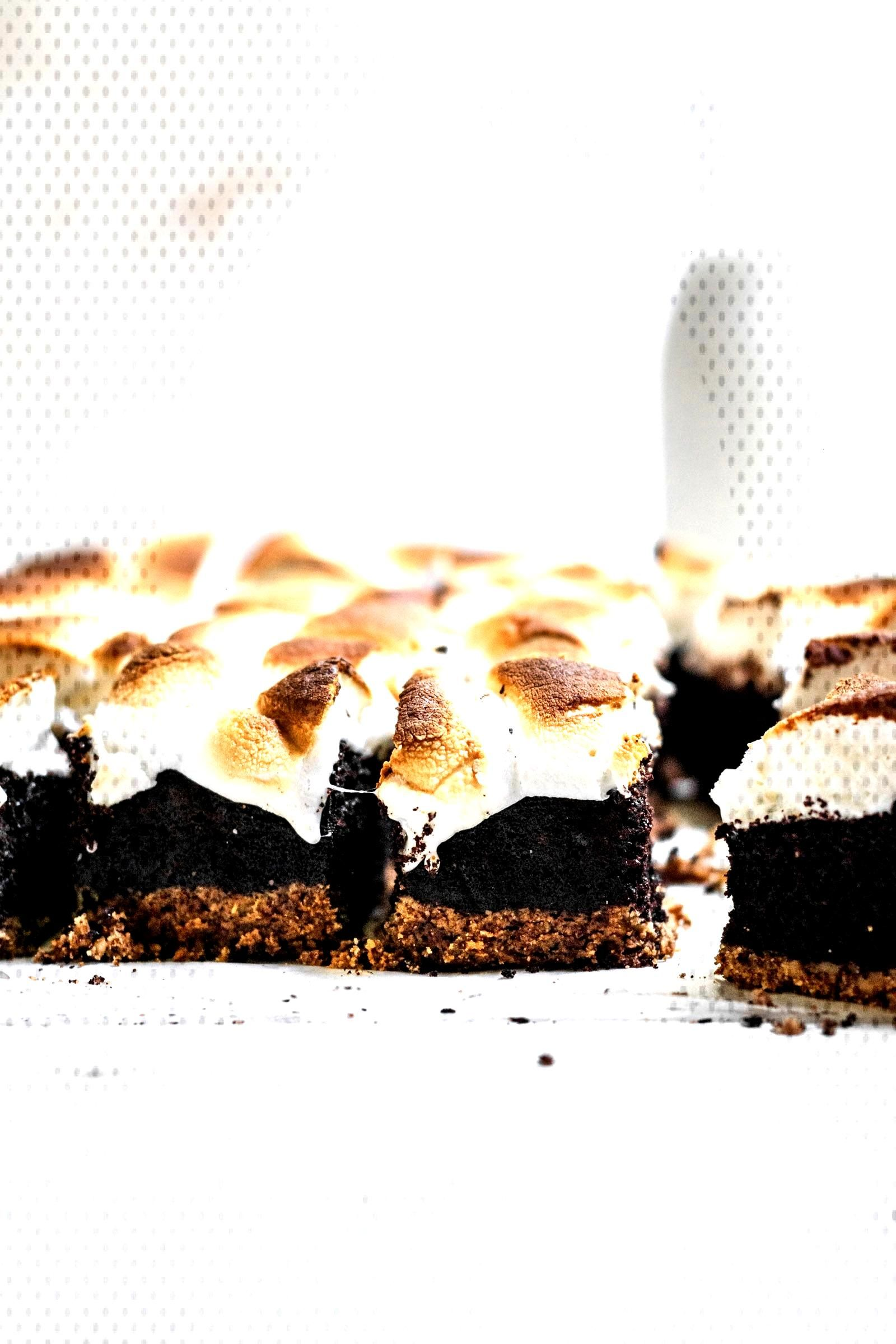 Gluten Free Smores Brownies (Paleo Option)   Well Fed Soul Gluten Free Smores Brownies are made w