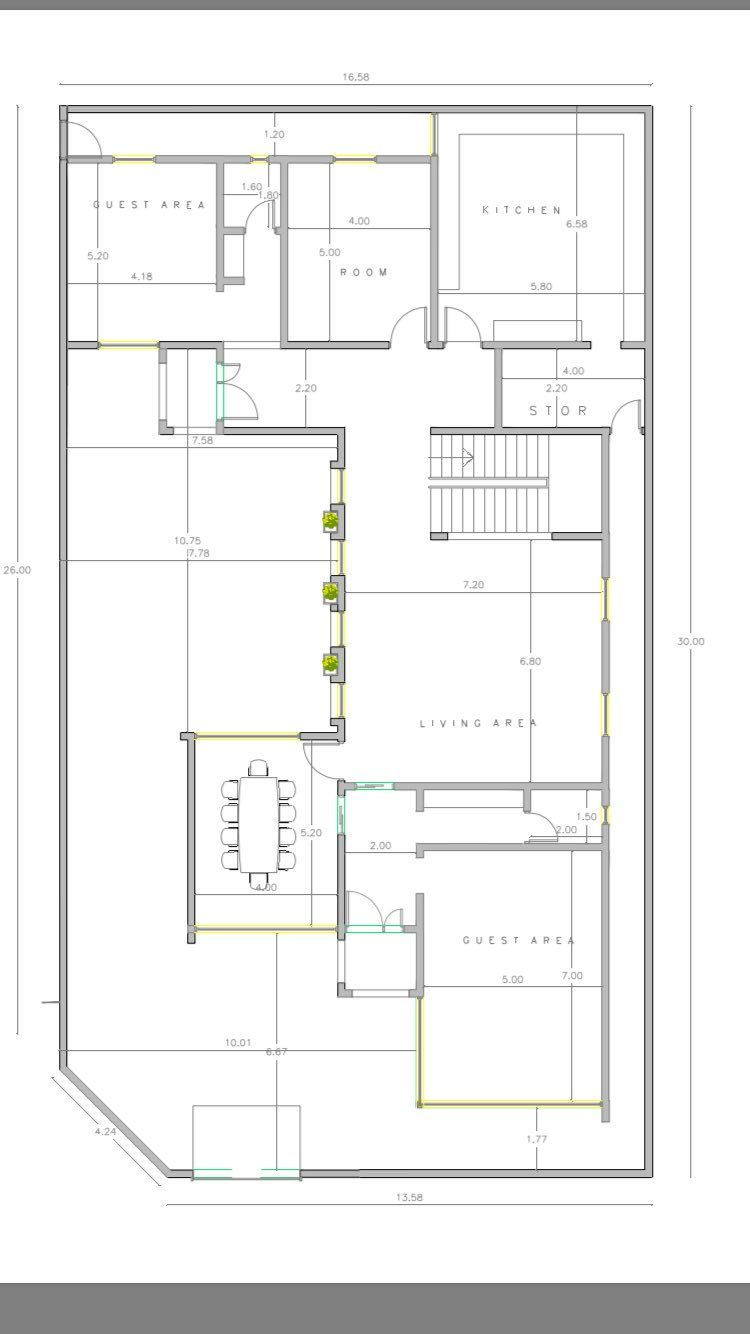 تويتر Villa Plan Floor Plans Indian House Plans