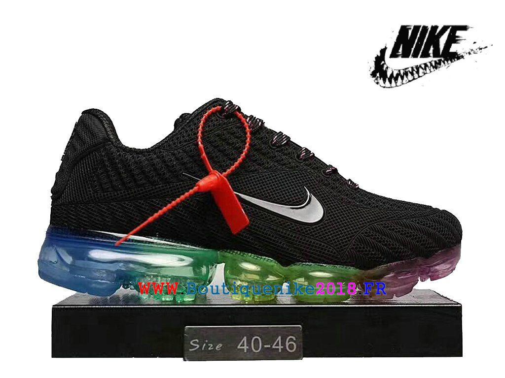wholesale dealer 328ce 84b66 Nike air Vapormax 2018 Nouveau Plastique Chaussures de course à coussin d´air  Homme Grand noir vert bleu-Nike Boutique de Chaussure Baskets Site Officiel  ...