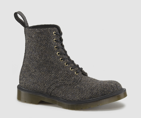 Martens + Harris Tweed | Objects of desire | Shoe boots