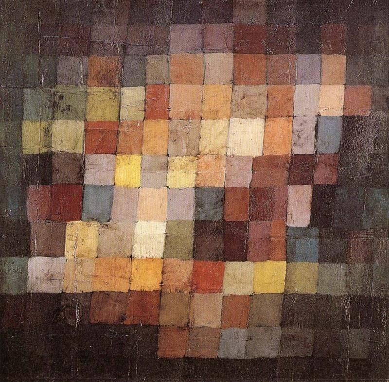 Paul Klee colour field