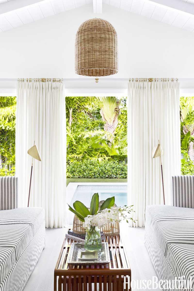 A Modern Twist On Palm Beach Style Pool House Designs Pool