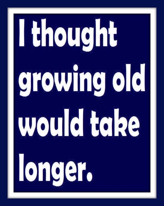 I Thought Growing Old Would Take Longer Funny Quotes Quotes Words