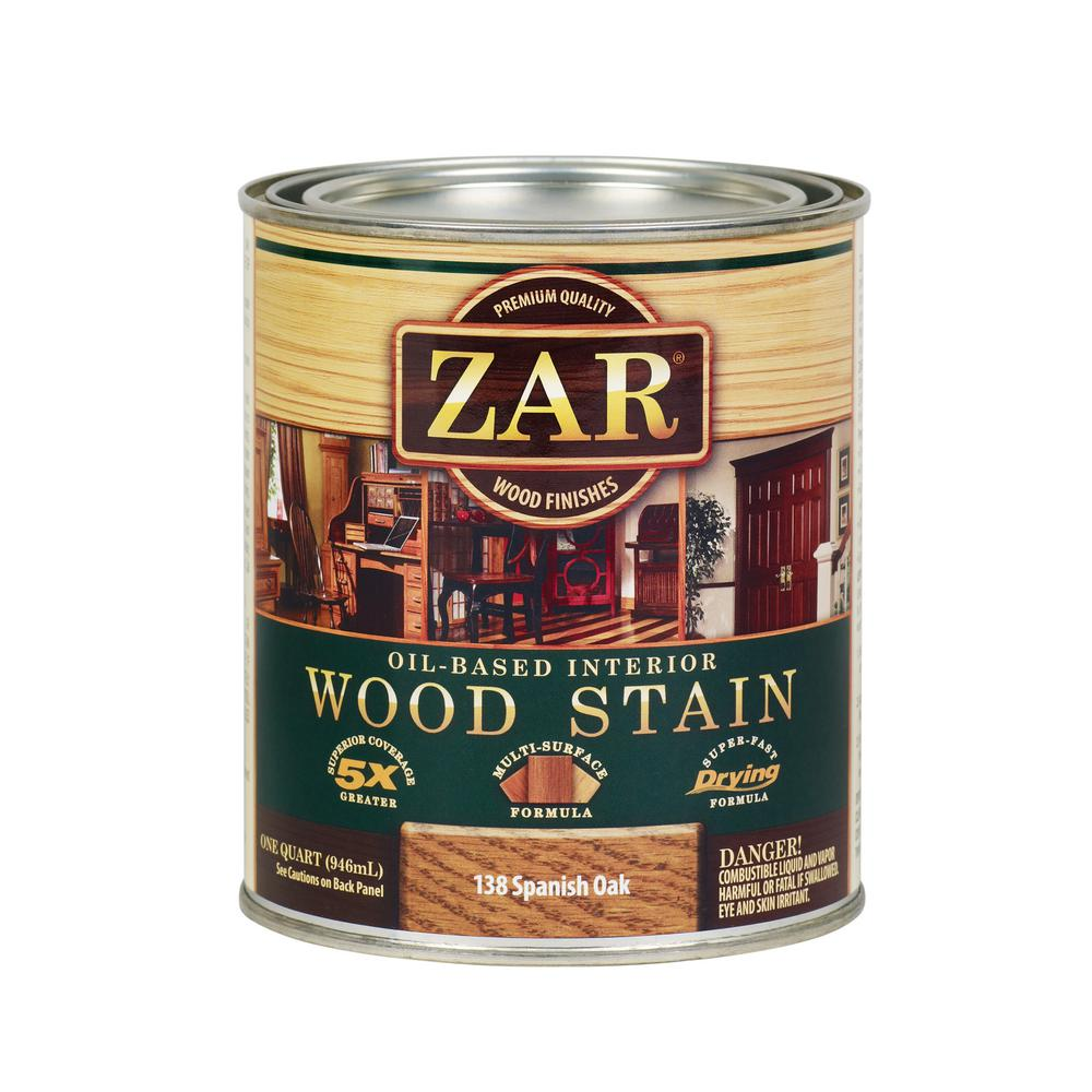 Zar 138 1 Qt Spanish Oak Wood Interior Stain 2 Pack Products