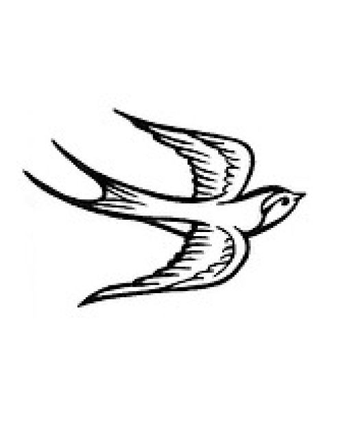 A Sparrow For My Mom Above My Left Pectoral A Symbol Of The Free