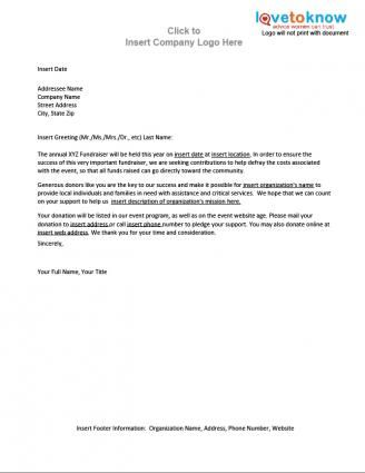 Fundraiser Contribution Letter TEAM E UNICORNu0027s 2014 Fall - fundraising proposal template
