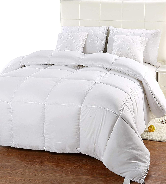 Utopia Bedding Comforter Duvet Insert Quilted Comforter With