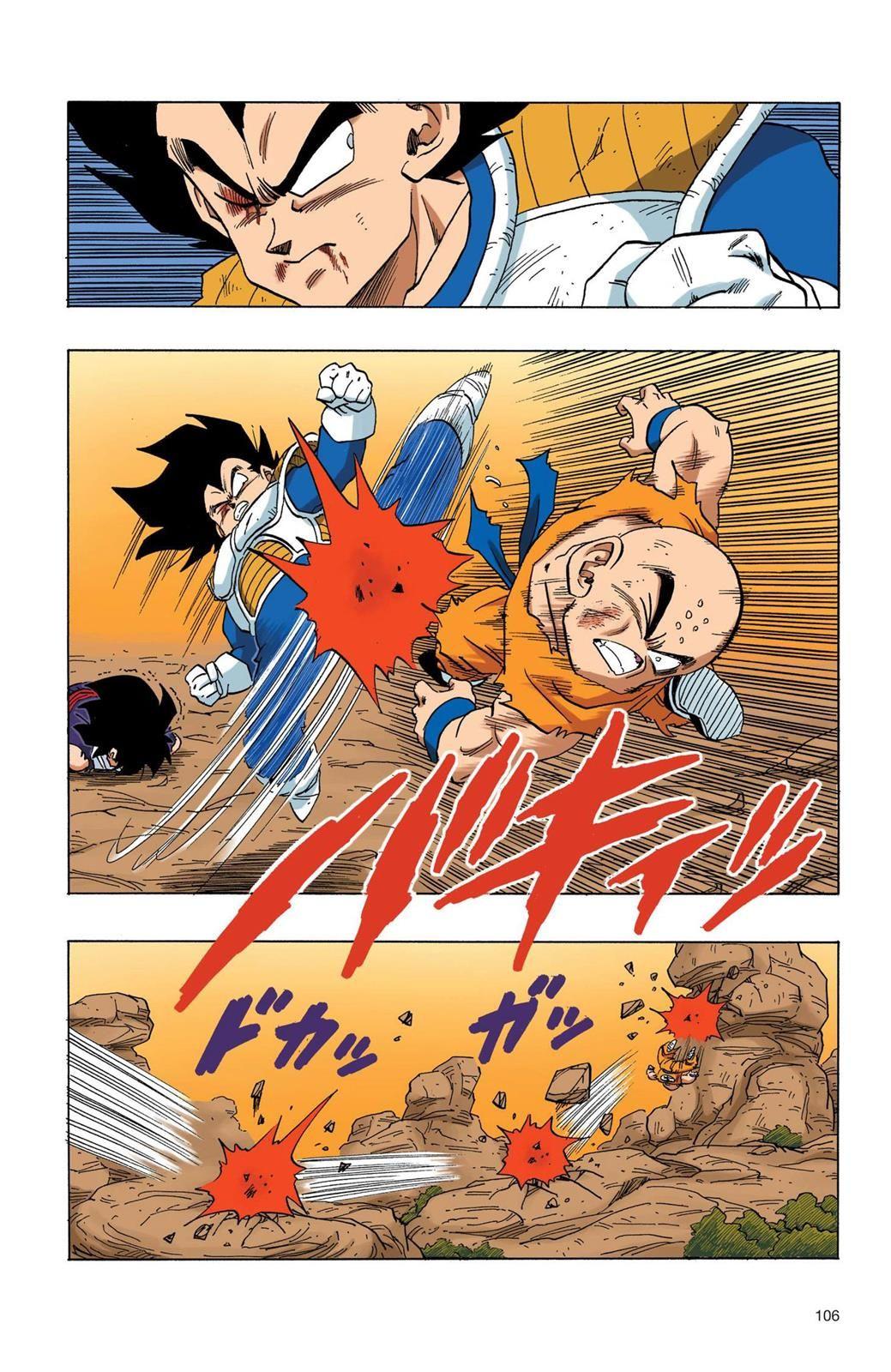 Dragon Ball Full Color Saiyan Arc Chapter 42 Page 5 Anime Dragon Ball Super Dragon Ball Dragon Ball Art