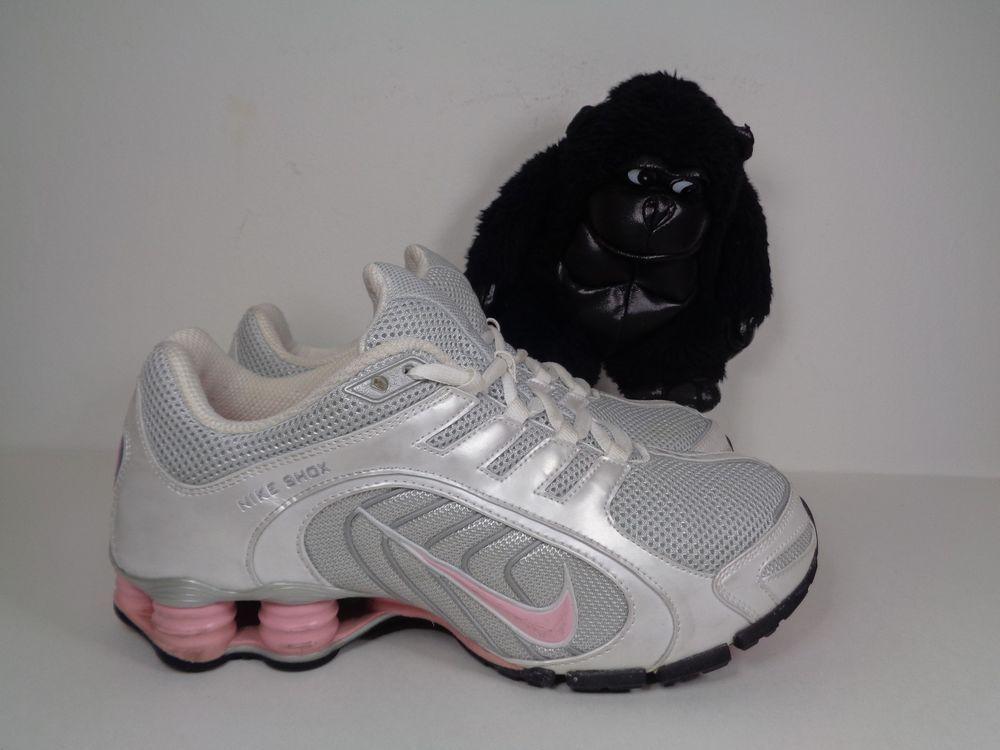53d76e917d Women's Nike Shox + 8 Running Training shoes size 9 US 313809-062 #Nike