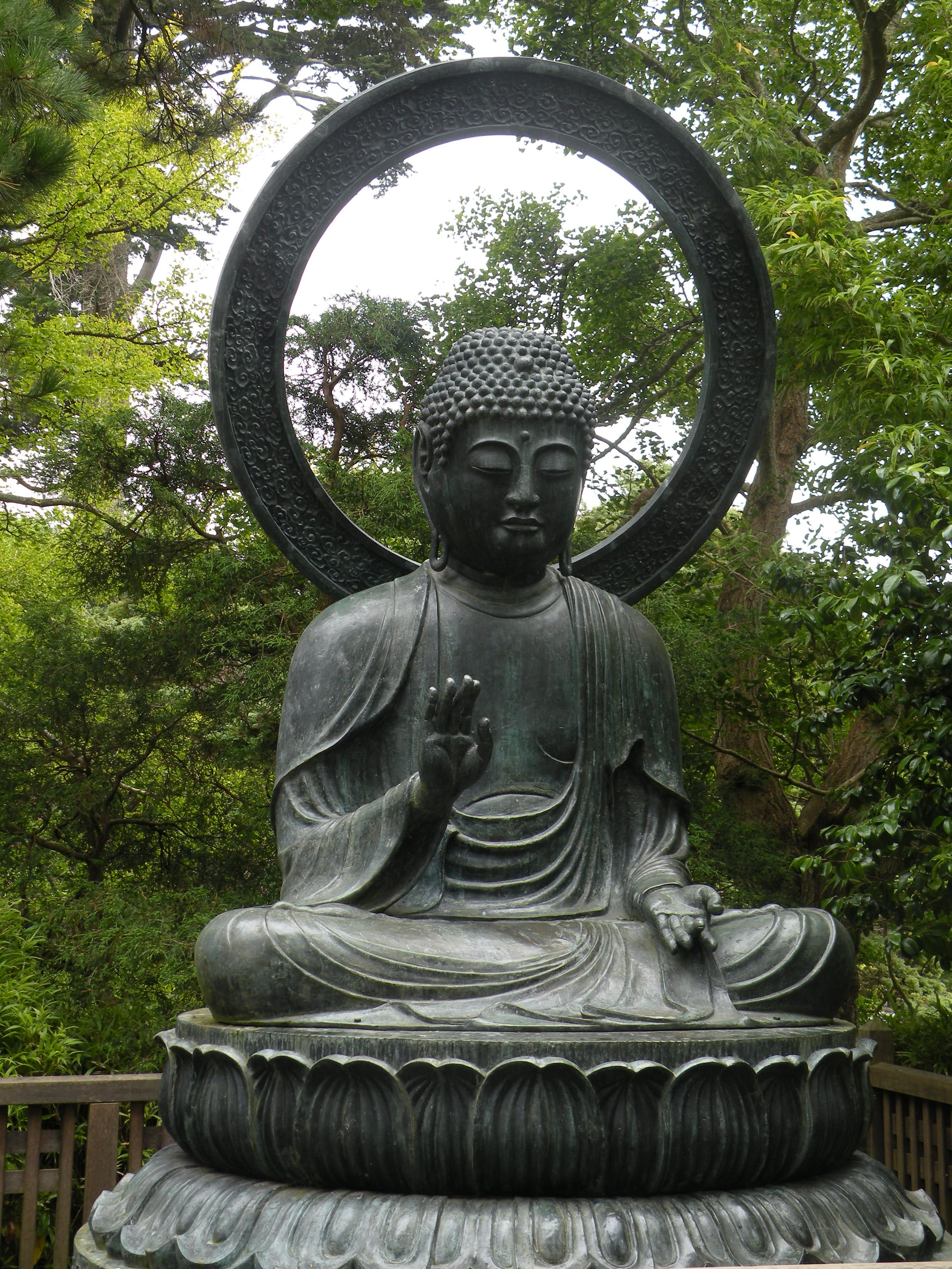I would love to welcome this Buddha to my garden.