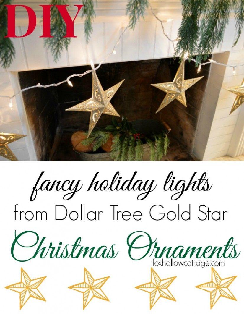 dollar tree christmas ornament fancy diy lights diy christmas ornament - Dollar Tree Christmas Lights