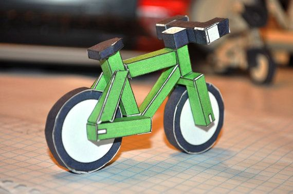 Paperbikes V1 1 Papercraft Xc Mtb Mountain Bike Paper Model By