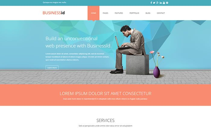 BusinessID Responsive Corporate Business WordPress Theme http://www.wpdiv.com/download-businessid-corporate-business-wordpress-theme/
