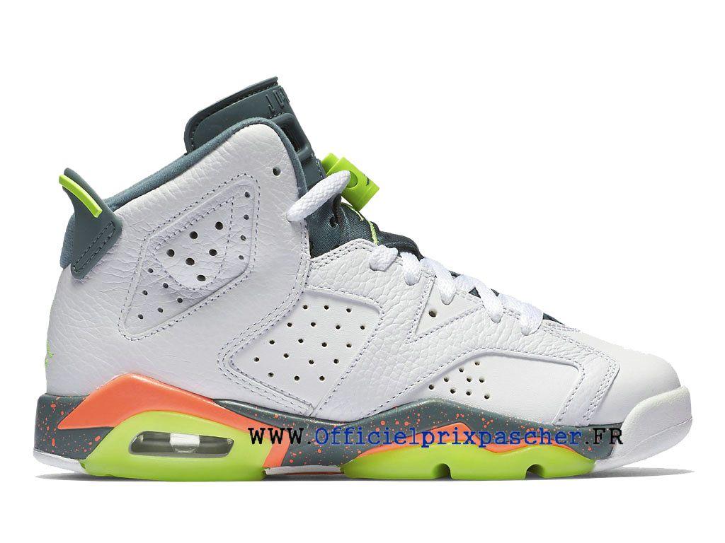 nouveau produit 2deb1 71462 Air Jordan 6 Retro GS Chaussures Air Jordan Basketball de ...