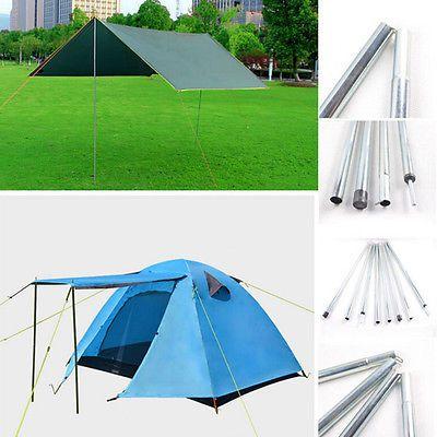 4X 2M Outdoor Backpacking Aluminium Alloy Tent Poles Bar Travel C&ing Hiking T  sc 1 st  Pinterest & 4X 2M Outdoor Backpacking Aluminium Alloy Tent Poles Bar Travel ...