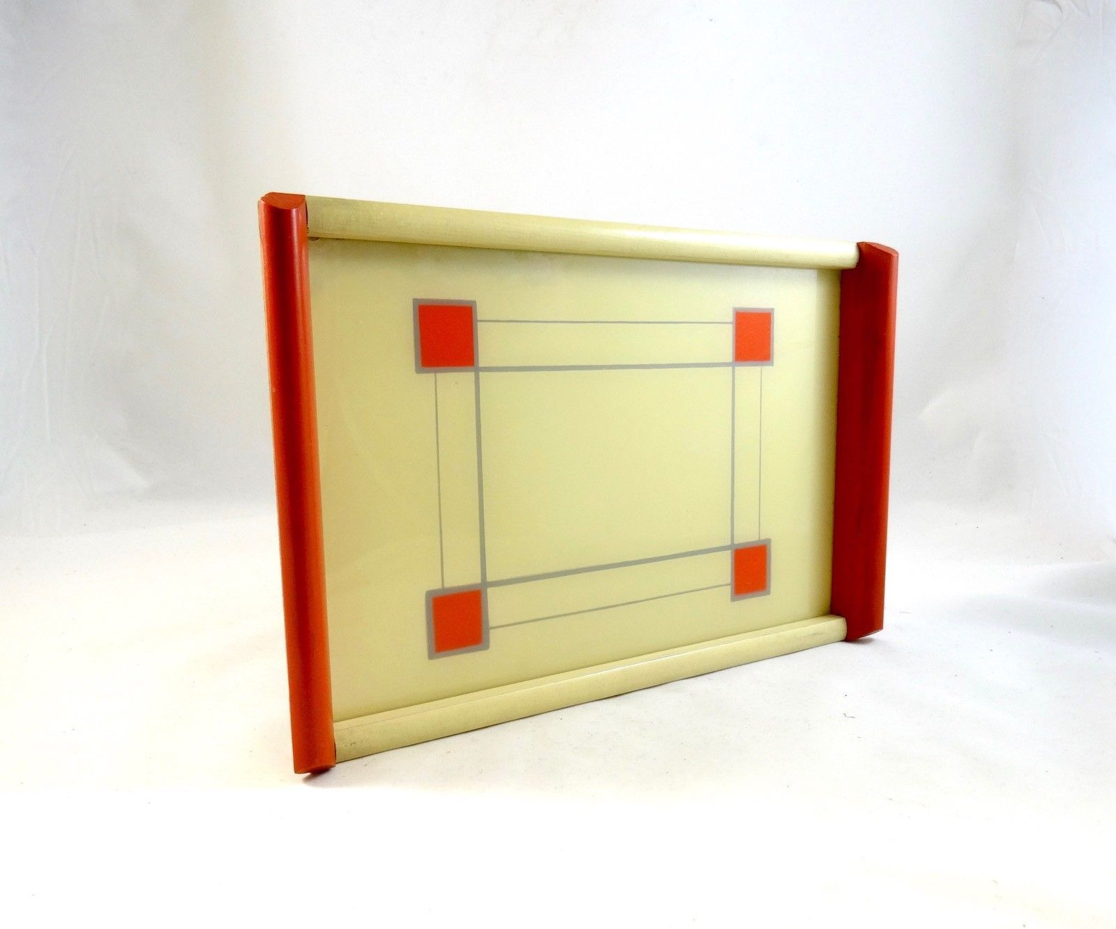 Art Deco Stijl : Rare de stijl small cocktail tray netherlands art deco bauhaus