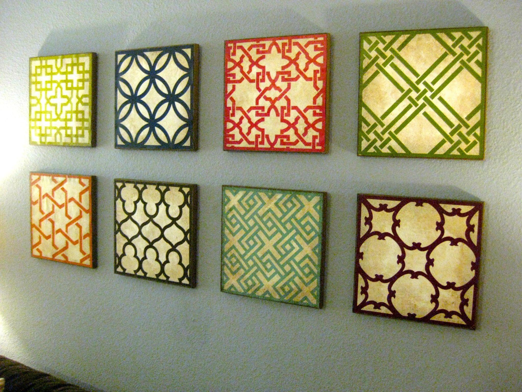 Geometric Art Tutorial Homemade Wall Art Homemade Wall