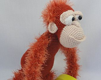 Crocheted Orangutan (with Pictures) - Instructables | 270x340
