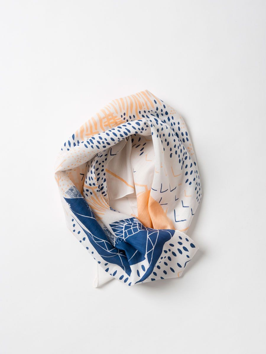 Link Collective Scarf - Mountain Blossom by Leah Duncan - Douglas + Bec