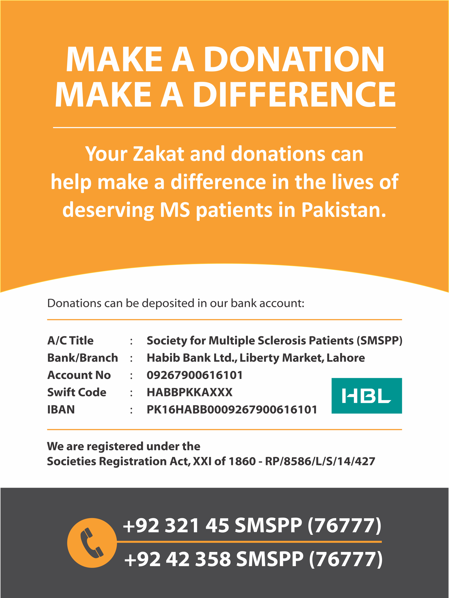 Make A Donation Make A Difference Donate To The Society For Multiple Sclerosis Patients In Pakistan Multiple Sclerosis Make A Donation This Or That Questions