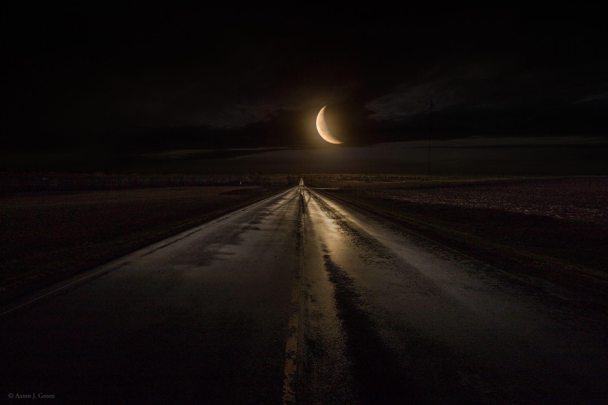 Midnight Highway by Aaron J. Groen on 500px