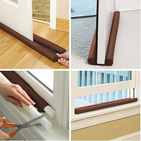 85cm Twin Draft Guard Door Window Air Dust Stopper Energy Saving
