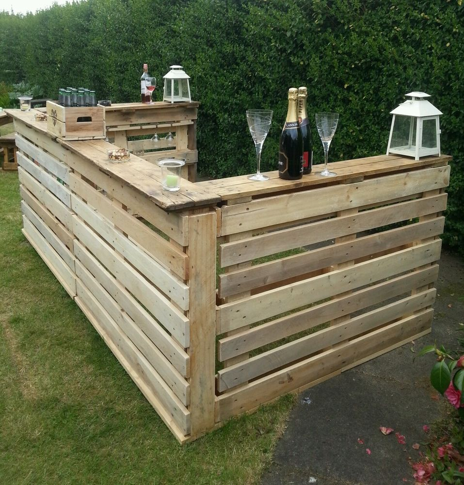 Rustic Bar For Indoor Or Conservatory Xmas Parties Or