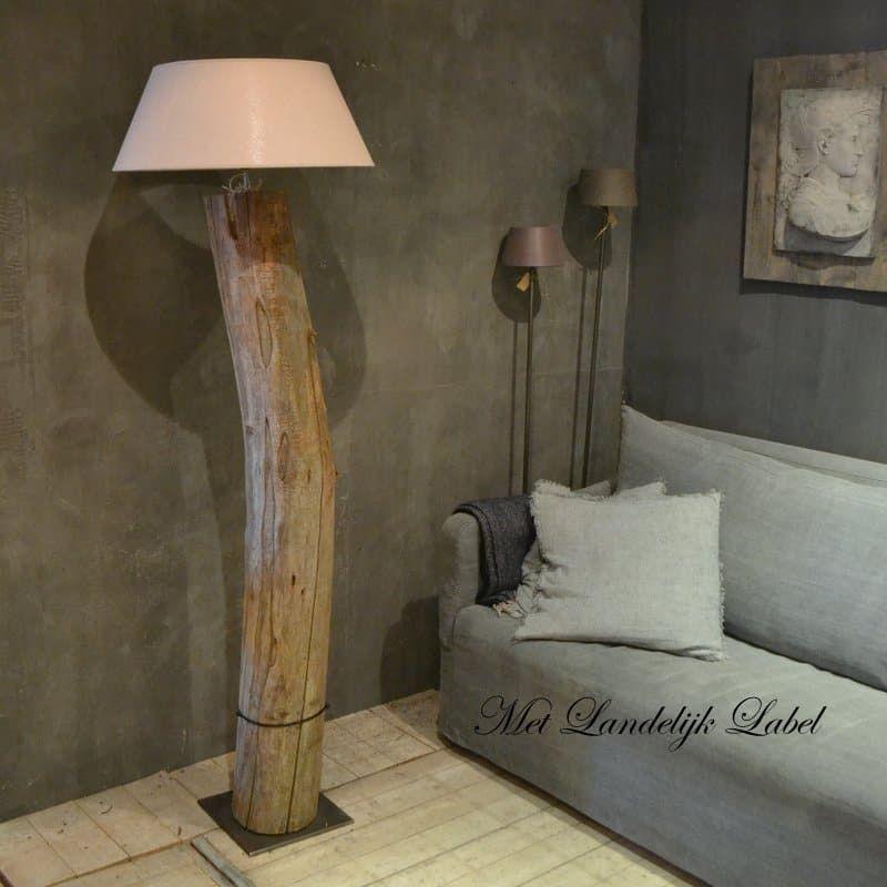 Eetkamerbank Rofra Home.Houten Boomstam Lamp Nr 03 Huis Guus Table Lamp Home Decor