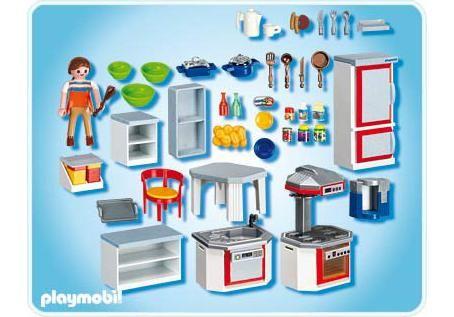 Playmobil 4283 große Wohnküche