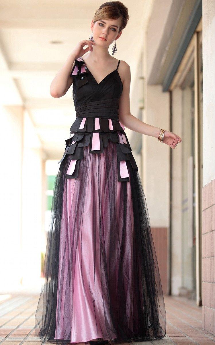 charmante Belle robe de bal concepteur américain Robe de