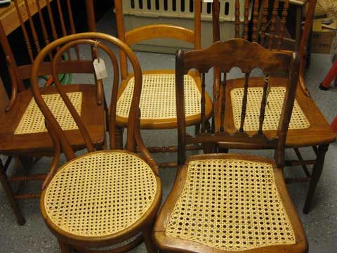 Chair Caning Detailed Instructions Antique Furniture Restoration