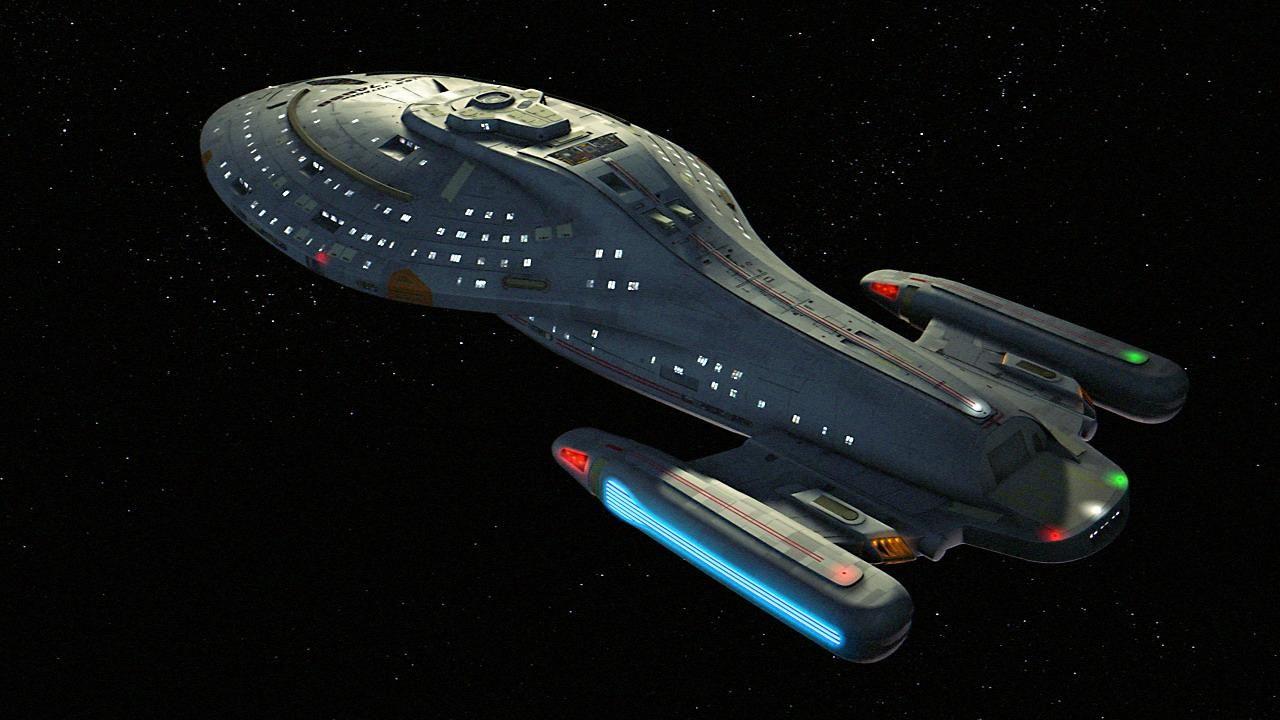 Star trek voyager spacecraft - Uss Voyager Star Trek Coa 2013 D05 M02 Star Trek Vs Star